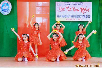 Một số hình ảnh hoạt động của nhà trường đợt chào mừng ngày Nhà giáo Việt Nam 20/11/2018